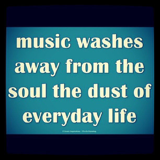 Music Is Good For Your Soul